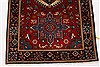 Karajeh Blue Runner Hand Knotted 26 X 63  Area Rug 250-26228 Thumb 6