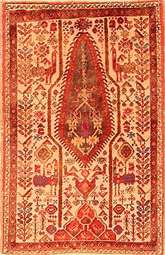 Persian Shahre babak Red Rectangle 3x5 ft Wool Carpet 26272