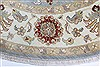 Ziegler Beige Round Hand Knotted 180 X 180  Area Rug 250-26396 Thumb 3