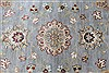 Ziegler Beige Round Hand Knotted 180 X 180  Area Rug 250-26396 Thumb 4