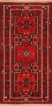 "Kazak Red Hand Knotted 5'7"" X 9'6""  Area Rug 100-26586"