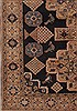 Abadeh Blue Hand Knotted 68 X 911  Area Rug 400-26721 Thumb 3