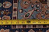 Kerman Blue Hand Knotted 411 X 82  Area Rug 400-26723 Thumb 2