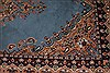 Kerman Blue Hand Knotted 411 X 82  Area Rug 400-26723 Thumb 6