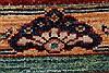 Kazak Multicolor Hand Knotted 510 X 77  Area Rug 250-26802 Thumb 10