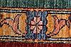 Kazak Multicolor Hand Knotted 510 X 77  Area Rug 250-26802 Thumb 9