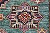 Kazak Beige Hand Knotted 58 X 80  Area Rug 250-26803 Thumb 10