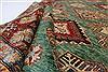 Kazak Beige Hand Knotted 58 X 80  Area Rug 250-26803 Thumb 2