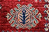 Kazak Beige Hand Knotted 57 X 83  Area Rug 250-26806 Thumb 15