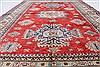 Kazak Beige Hand Knotted 57 X 83  Area Rug 250-26806 Thumb 8
