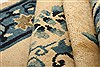 Asian Inspired Blue Hand Knotted 31 X 410  Area Rug 100-26820 Thumb 11