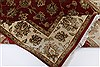 Kashan Beige Hand Knotted 55 X 82  Area Rug 250-26829 Thumb 1
