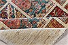 Pishavar Multicolor Hand Knotted 57 X 78  Area Rug 250-26831 Thumb 3