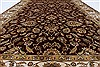 Isfahan Beige Hand Knotted 51 X 82  Area Rug 250-26832 Thumb 5