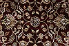 Isfahan Beige Hand Knotted 51 X 82  Area Rug 250-26832 Thumb 9