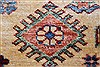 Kazak Beige Hand Knotted 56 X 79  Area Rug 250-26841 Thumb 8