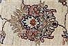 Pishavar Beige Hand Knotted 57 X 82  Area Rug 250-26845 Thumb 12