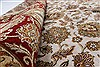 Kashan Beige Hand Knotted 56 X 711  Area Rug 250-26850 Thumb 12