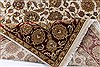 Kashan Beige Hand Knotted 56 X 711  Area Rug 250-26850 Thumb 1