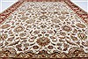 Kashan Beige Hand Knotted 56 X 711  Area Rug 250-26850 Thumb 3