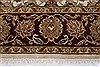 Kashan Beige Hand Knotted 56 X 711  Area Rug 250-26850 Thumb 4
