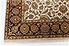 Kashan Beige Hand Knotted 56 X 711  Area Rug 250-26850 Thumb 6