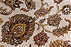 Kashan Beige Hand Knotted 54 X 82  Area Rug 250-26853 Thumb 10