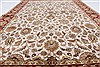 Kashan Beige Hand Knotted 54 X 82  Area Rug 250-26853 Thumb 5