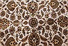 Kashan Beige Hand Knotted 54 X 82  Area Rug 250-26853 Thumb 7