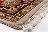 Kashan Beige Hand Knotted 54 X 82  Area Rug 250-26853 Thumb 9