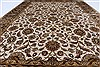 Kashan Beige Hand Knotted 57 X 81  Area Rug 250-26855 Thumb 3