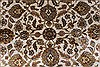 Kashan Beige Hand Knotted 57 X 81  Area Rug 250-26855 Thumb 5
