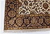 Kashan Beige Hand Knotted 57 X 81  Area Rug 250-26855 Thumb 6