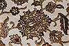 Kashan Beige Hand Knotted 57 X 81  Area Rug 250-26855 Thumb 8