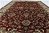 Tabriz Beige Hand Knotted 56 X 711  Area Rug 250-26861 Thumb 3