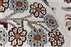 Isfahan White Hand Knotted 50 X 81  Area Rug 250-26864 Thumb 11