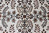 Isfahan White Hand Knotted 50 X 81  Area Rug 250-26864 Thumb 5