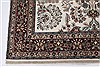 Isfahan White Hand Knotted 50 X 81  Area Rug 250-26864 Thumb 6