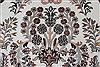 Isfahan White Hand Knotted 50 X 81  Area Rug 250-26864 Thumb 8