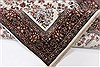 Isfahan White Hand Knotted 51 X 83  Area Rug 250-26865 Thumb 1