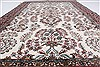 Isfahan White Hand Knotted 51 X 83  Area Rug 250-26865 Thumb 3