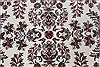 Isfahan White Hand Knotted 51 X 83  Area Rug 250-26865 Thumb 5