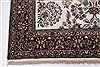 Isfahan White Hand Knotted 51 X 83  Area Rug 250-26865 Thumb 6