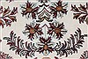 Isfahan White Hand Knotted 51 X 83  Area Rug 250-26865 Thumb 8