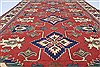 Kazak Red Hand Knotted 55 X 711  Area Rug 250-26874 Thumb 3