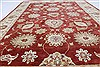 Chobi Red Hand Knotted 55 X 79  Area Rug 250-26879 Thumb 3