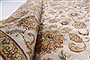 Kashmar Beige Hand Knotted 56 X 80  Area Rug 250-26906 Thumb 2