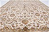 Kashmar Beige Hand Knotted 56 X 80  Area Rug 250-26906 Thumb 5
