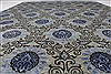 Modern Black Hand Knotted 90 X 120  Area Rug 250-26928 Thumb 3
