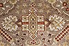 Isfahan Beige Hand Knotted 80 X 101  Area Rug 250-26935 Thumb 10